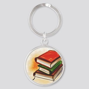 2-33-bookss Keychains