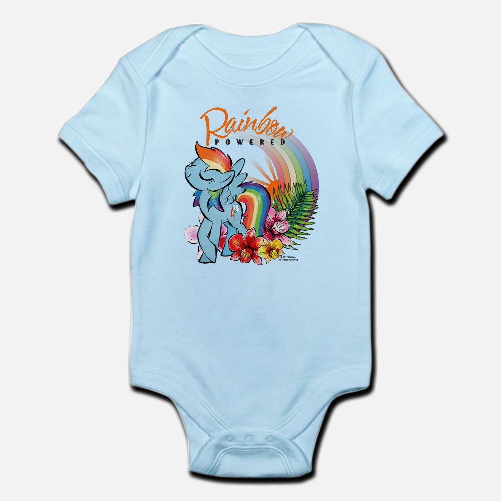 MLP Rainbow Powered Baby Bodysuit