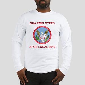 OHA AFGE Local 3610 <BR>Tee Shirt 2