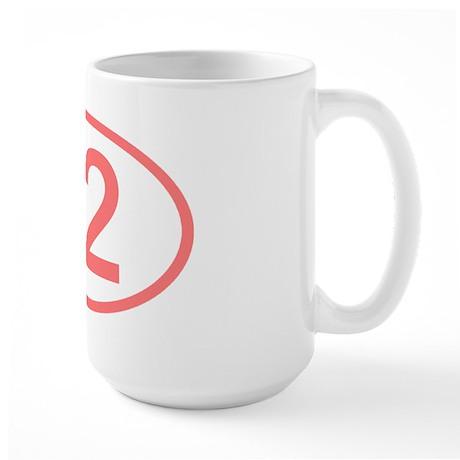 Number 12 Oval Large Mug