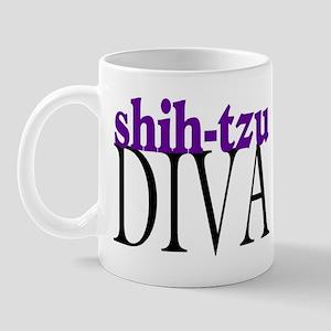 Shih-tzu Diva Mug