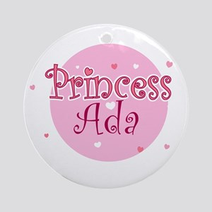 Ada Ornament (Round)