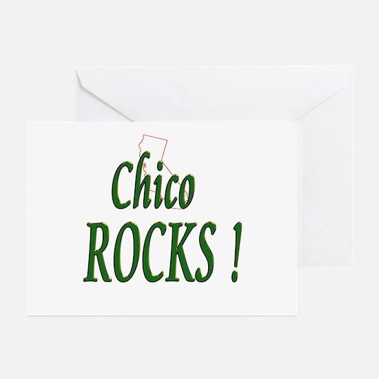 Chico Rocks ! Greeting Cards (Pk of 10)