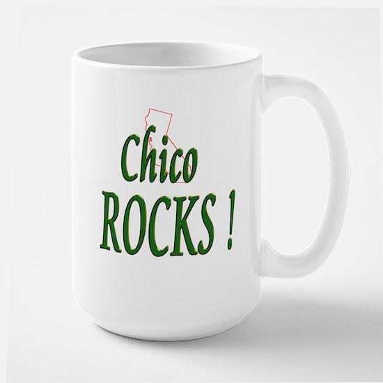 Chico Rocks ! Large Mug