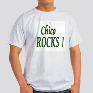Chico Rocks ! Ash Grey T-Shirt