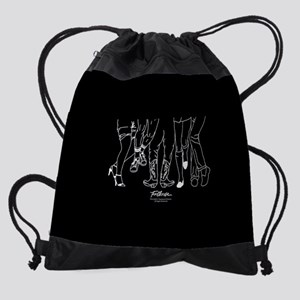 Footloose Cartoon Feet Drawstring Bag