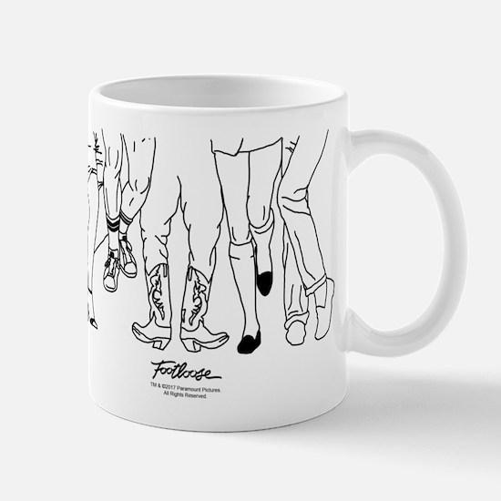 Footloose Cartoon Feet Mug
