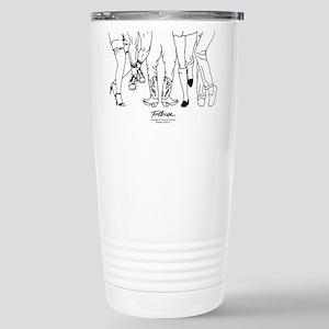 Footloose Cartoon 16 oz Stainless Steel Travel Mug