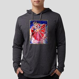 Fiesta! Colorful, Dancer! Mens Hooded Shirt