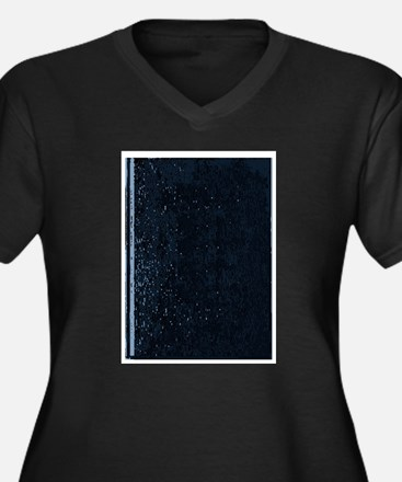 Blank Book Cover Plus Size T-Shirt