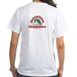 CO Circle logo White T-Shirt