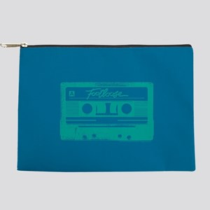 Footloose Teal Cassette Makeup Pouch