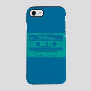 Footloose Teal Cassette iPhone 7 Tough Case