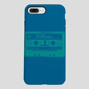 Footloose Teal Cassette iPhone 7 Plus Tough Case