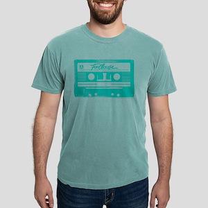 Footloose Teal Cassette Mens Comfort Colors Shirt