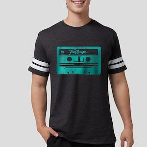 Footloose Teal Cassette Mens Football Shirt