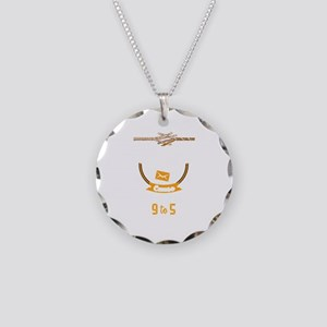 Not For The Weak Cause This Necklace Circle Charm