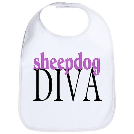 Sheepdog Diva Bib