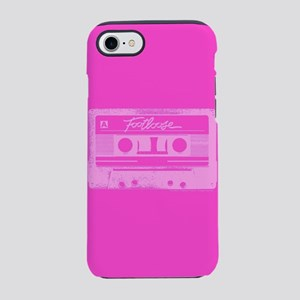 Footloose Pink Cassette iPhone 7 Tough Case