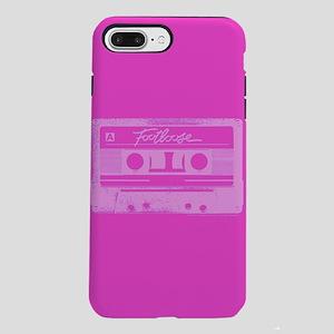 Footloose Pink Cassette iPhone 7 Plus Tough Case