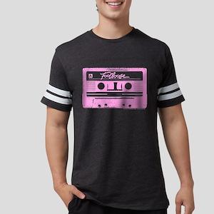 Footloose Pink Cassette Mens Football Shirt