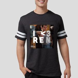 Footloose I <3 Ren Mens Football Shirt