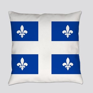 quebec flag Everyday Pillow