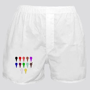 Icecream Cone Icons Boxer Shorts