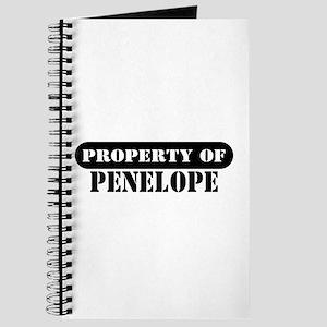 Property of Penelope Journal