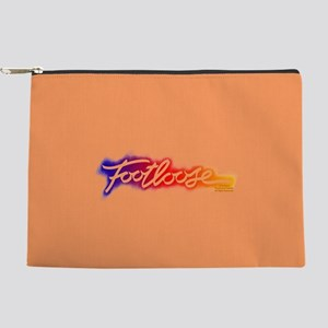 Footloose colorful Stencil Makeup Pouch
