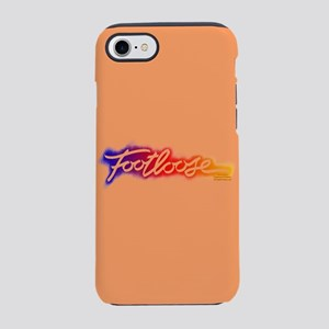 Footloose colorful Stencil iPhone 7 Tough Case