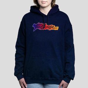 Footloose colorful Stenc Women's Hooded Sweatshirt