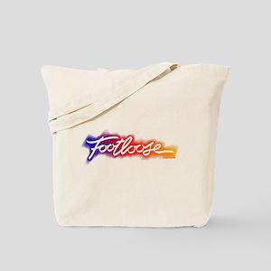 Footloose colorful Stencil Tote Bag