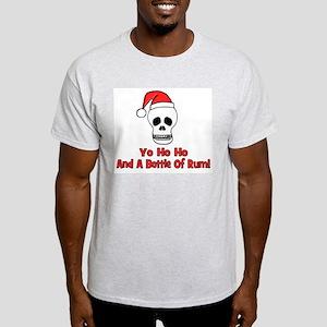 Yo Ho Ho & A Bottle Of Rum Ash Grey T-Shirt