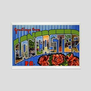 Lancaster Pennsylvania Greetings Rectangle Magnet