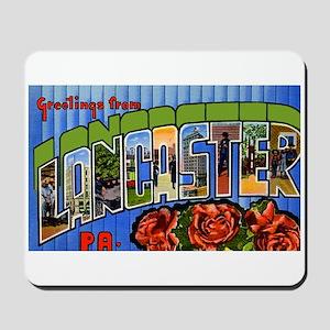 Lancaster Pennsylvania Greetings Mousepad