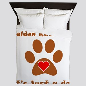 If Its Not A Golden Retriever Queen Duvet