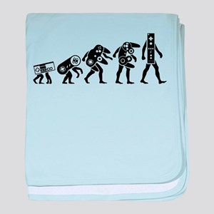 Evolution of weapon baby blanket