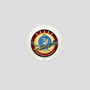 363rd Fighter Squadron - P51 Mustang Mini Button