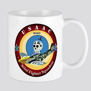 363rd Fighter Squadron - P51 Mustang Mug