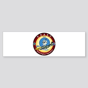 363rd Fighter Squadron - P51 Mustang Sticker (Bump