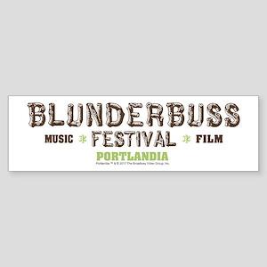 Portlandia Blunderbuss Festival Bumper Sticker