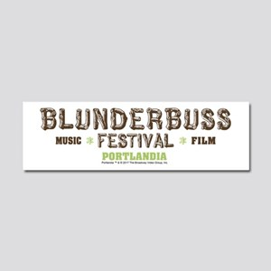 Portlandia Blunderbuss Festival Car Magnet 10 x 3