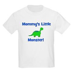 Mommy's Little Monster - Dino Kids T-Shirt