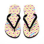 Amour Bright Flip Flops