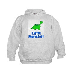 Little Monster - Dinosaur Hoodie