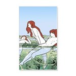 Art Nouveau: Bathing Nymphs Wall Decal