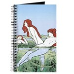Art Nouveau: Bathing Nymphs Journal