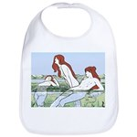Art Nouveau: Bathing Nymphs Bib