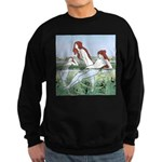 Art Nouveau: Bathing Nymphs Sweatshirt